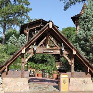 5 of 5: Skyway - Former Skyway station in Fantasyland