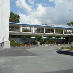 Tomorrowland Skyway Station refurbishment