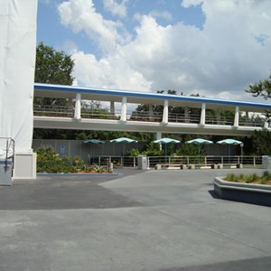 2 of 2: Skyway - Tomorrowland Skyway Station refurbishment