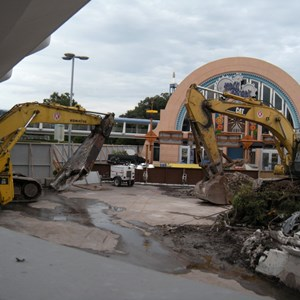 2 of 6: Skyway - Tomorrowland Skyway Station demolition