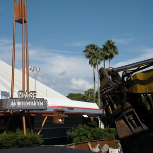 4 of 8: Skyway - Tomorrowland Skyway Station demolition