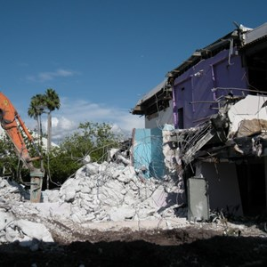 6 of 8: Skyway - Tomorrowland Skyway Station demolition