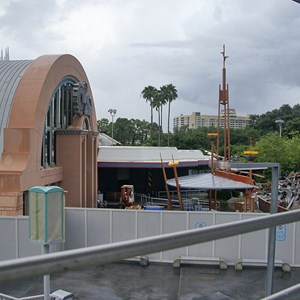 2 of 10: Skyway - Tomorrowland Skyway Station demolition