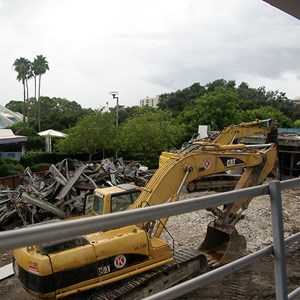 4 of 10: Skyway - Tomorrowland Skyway Station demolition