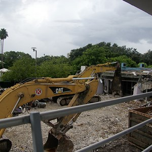 5 of 10: Skyway - Tomorrowland Skyway Station demolition