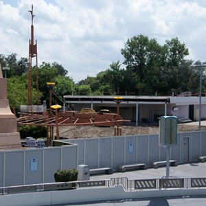 2 of 8: Skyway - Tomorrowland Skyway Station demolition