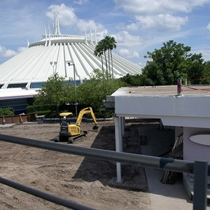 7 of 8: Skyway - Tomorrowland Skyway Station demolition