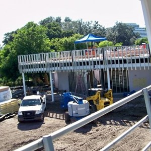 3 of 6: Skyway - Former Tomorrowland Skyway Station rebuilding