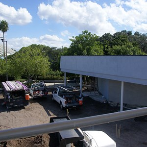 1 of 4: Skyway - Former Tomorrowland Skyway Station rebuilding