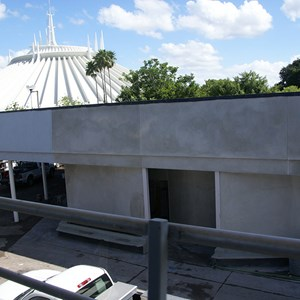 2 of 4: Skyway - Former Tomorrowland Skyway Station rebuilding