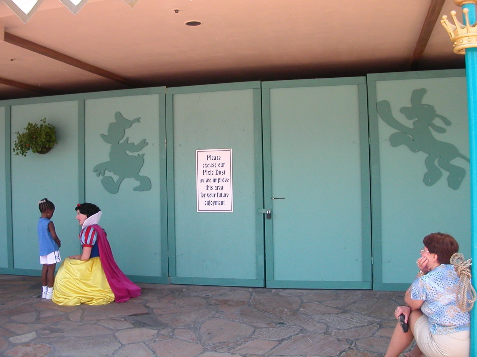 Snow White closed for refurbishment