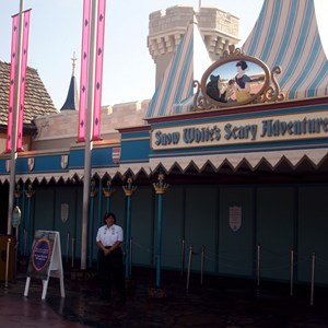 1 of 2: Snow White's Scary Adventures - Snow White closed for refurbishment