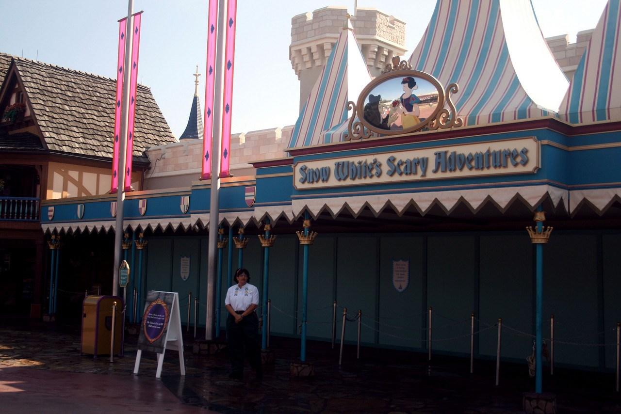 Snow White closed for refurbishment