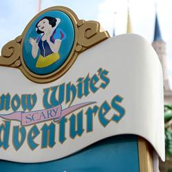Snow White's Scary Adventures exterior