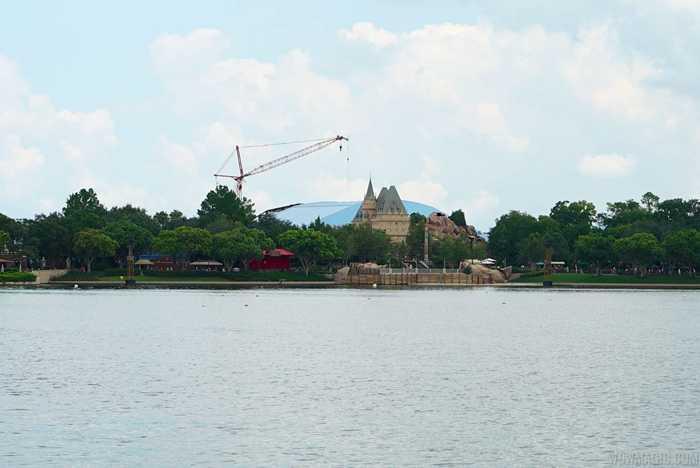 Soarin' third theater construction