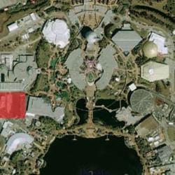 Satellite image of location