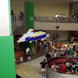 1 of 2: Soarin' - Overhead view