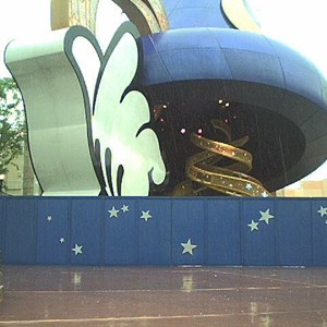 1 of 2: Sorcerer Mickey Hat Icon - Hat construction update
