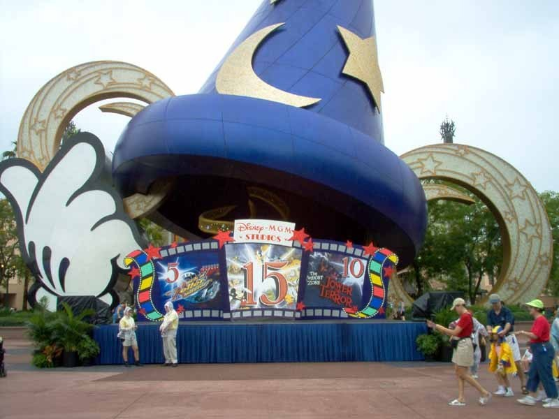 15th Year birthday display at the Sorcerer Hat
