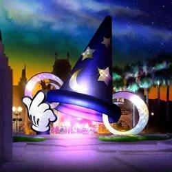 Sorcerer Mickey Hat Icon concept art