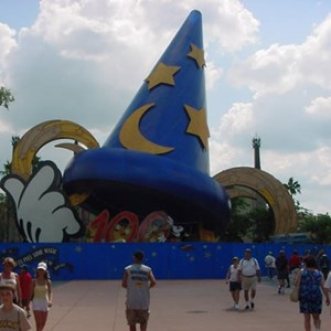 1 of 3: Sorcerer Mickey Hat Icon - Sorcerer Mickey Hat Icon construction