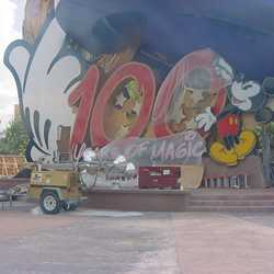 Sorcerer Mickey Hat Icon construction