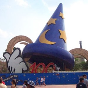 3 of 4: Sorcerer Mickey Hat Icon - Sorcerer Mickey Hat Icon construction