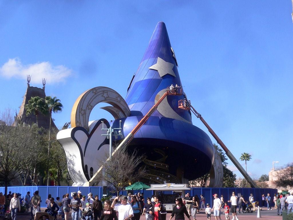 Sorcerer Mickey Hat refurbishment