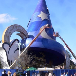 2 of 2: Sorcerer Mickey Hat Icon - Sorcerer Mickey Hat refurbishment