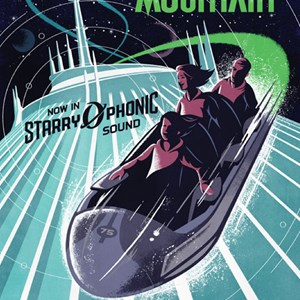 1 of 1: Space Mountain - Space Mountain 'Starry-O-Phonic Sound' poster