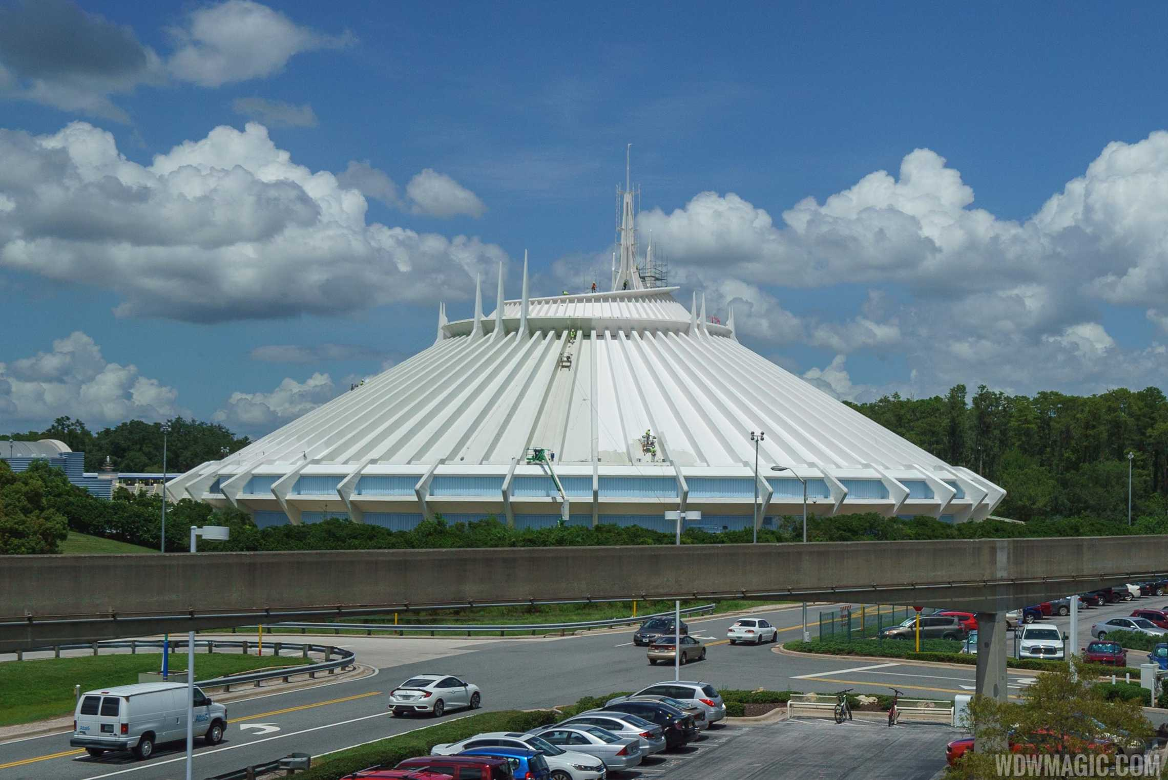 Space Mountain exterior paint work - Photo 1 of 1