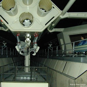 3 of 5: Space Mountain - Interior track photos