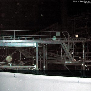4 of 5: Space Mountain - Interior track photos