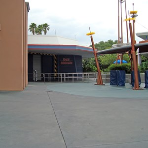 3 of 5: Space Mountain - Space Mountain closed for refurbishment