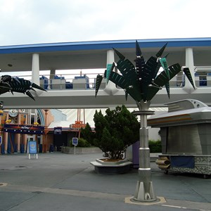 5 of 5: Space Mountain - Space Mountain closed for refurbishment