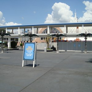 1 of 2: Space Mountain - Space Mountain closed for refurbishment