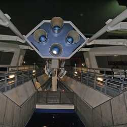 Space Mountain refurbishment interior