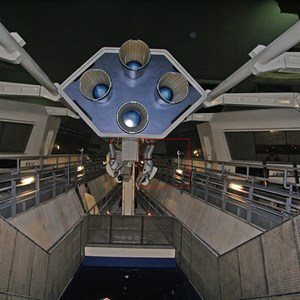 1 of 2: Space Mountain - Space Mountain refurbishment interior
