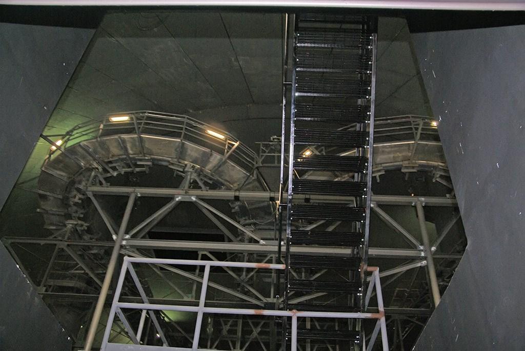 Space Mountain refurbishment interior