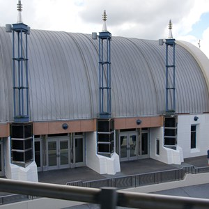 1 of 5: Space Mountain - Space Mountain refurbishment exterior