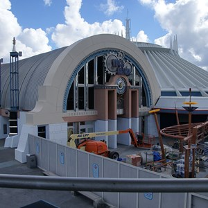2 of 5: Space Mountain - Space Mountain refurbishment exterior