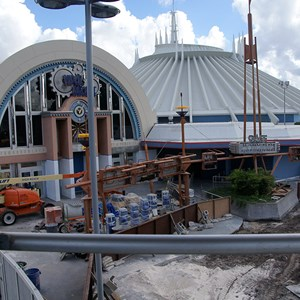 3 of 5: Space Mountain - Space Mountain refurbishment exterior