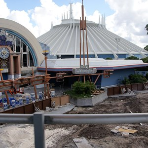 4 of 5: Space Mountain - Space Mountain refurbishment exterior