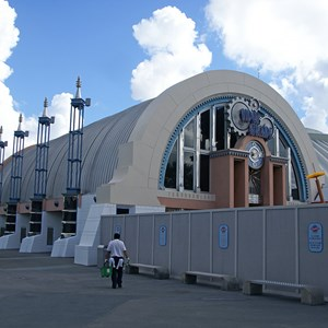5 of 5: Space Mountain - Space Mountain refurbishment exterior