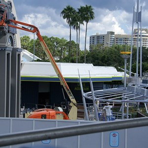 2 of 8: Space Mountain - Space Mountain refurbishment