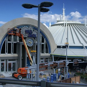 4 of 8: Space Mountain - Space Mountain refurbishment