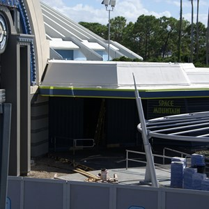 6 of 9: Space Mountain - Space Mountain refurbishment