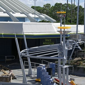7 of 9: Space Mountain - Space Mountain refurbishment