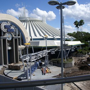 8 of 9: Space Mountain - Space Mountain refurbishment