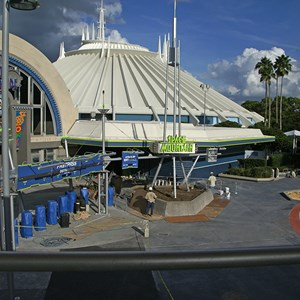 5 of 8: Space Mountain - Space Mountain refurbishment